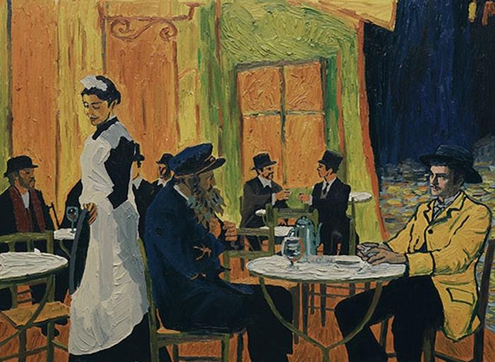Uno de los cuadros recreados en 'Loving Vincent'