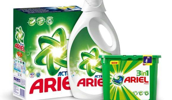 Productos de la marca Ariel