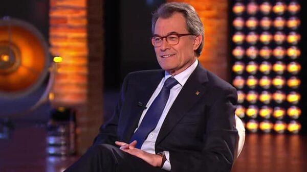 Artur Mas durante su entrevista en 'El Objetivo'