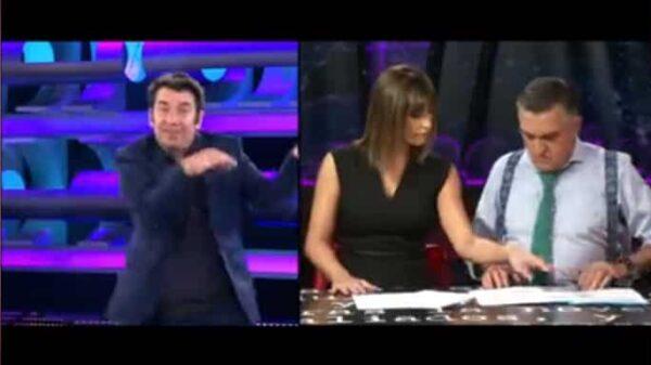 Arturo Valls, Sandra Sabatés y Gran Wyoming en la promo de Atresmedia