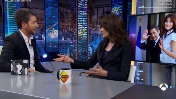 Carla Bruni en 'El Hormiguero'