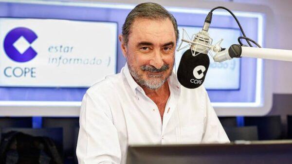 El locutor Carlos Herrera en Cope