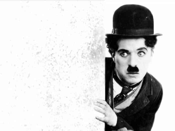 El actor Charles Chaplin