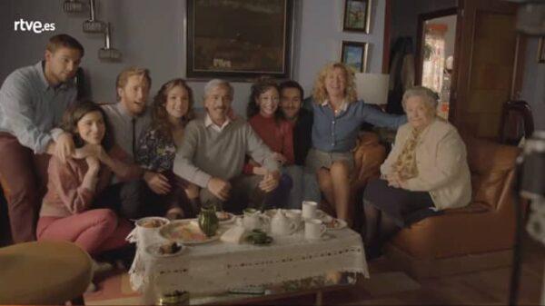 La familia Alcántara de 'Cuéntame'