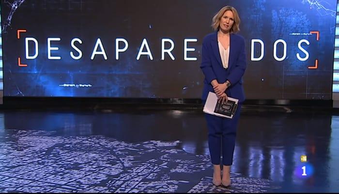 Silvia Intxaurrondo, al frente de 'Desaparecidos'