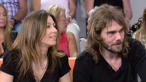 Carlos Navarro, 'El Yoyas', y su mujer, Fayna, en una aparición en televisión