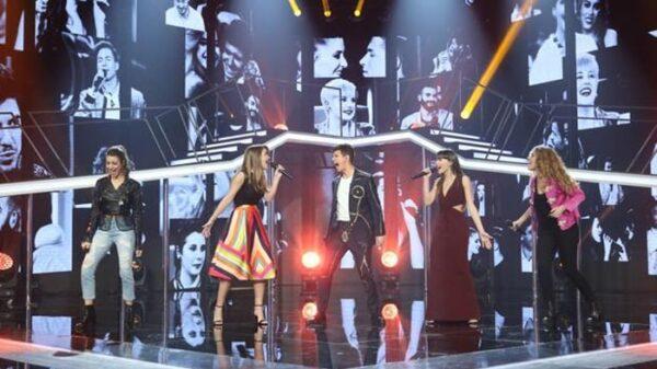 Los finalistas de 'OT' cantando 'Camina'