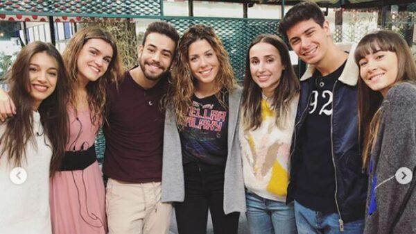 Los concursantes de 'OT' con Zahara