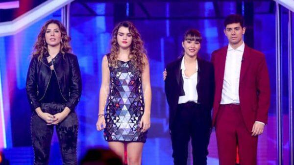 Miriam, Amaia, Aitana y Alfred en 'OT'