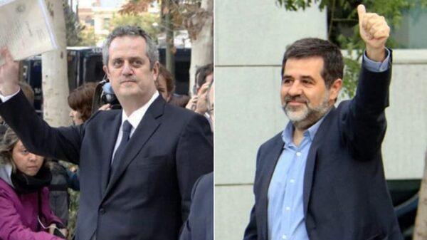 Joaquim Forn y Jordi Sánchez