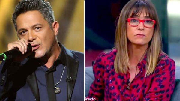 Alejandro Sanz y Noemí Galera