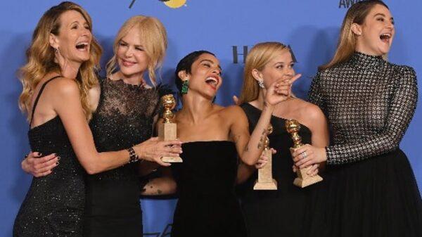 Algunas de las ganadoras de los Globos de Oro 2018