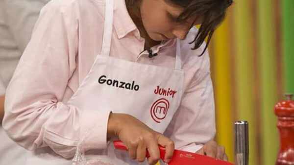 Gonzalo en 'Masterchef Junior 5'