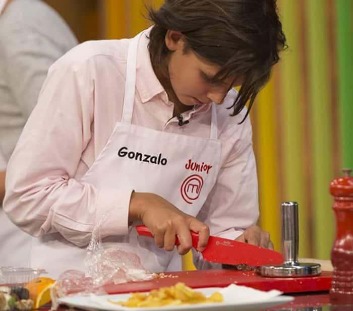 Gonzalo en 'Masterchef Junior 5'