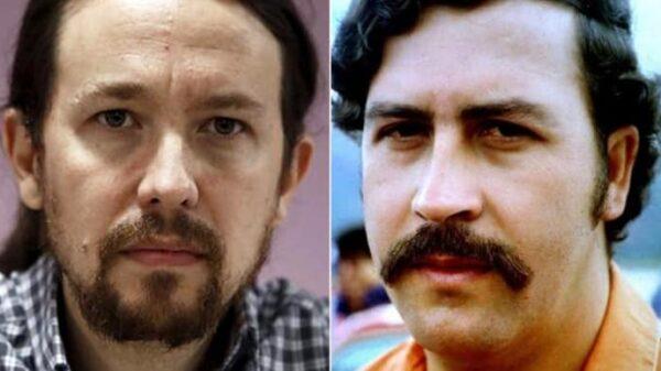 Pablo Iglesias y Pablo Escobar