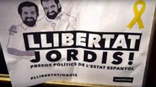 """Fotograma del vídeo """"¿Por qué están los Jordis en prisión?"""""""
