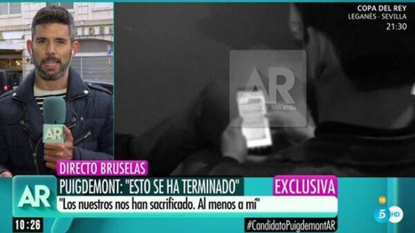 El reportero de 'El Programa de AR' Luis Navarro