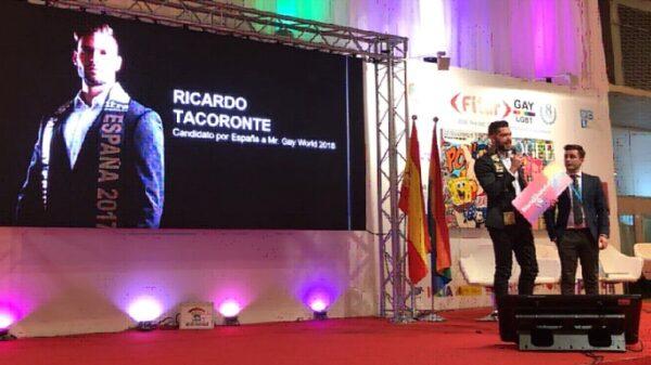 La presentación de Mr. Gay Pride España en Fitur LGTB