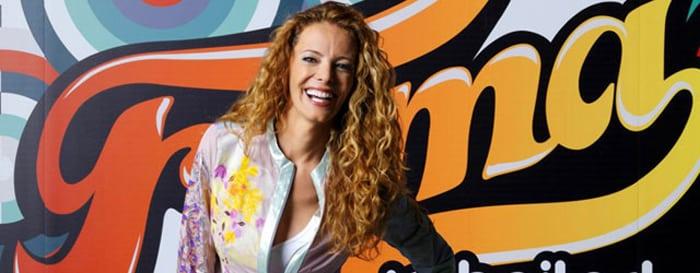 Paula Vázquez en una foto promocional de 'Fama'
