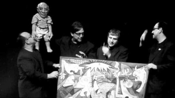Escena de la ópera sobre Picasso escrita por Boadella