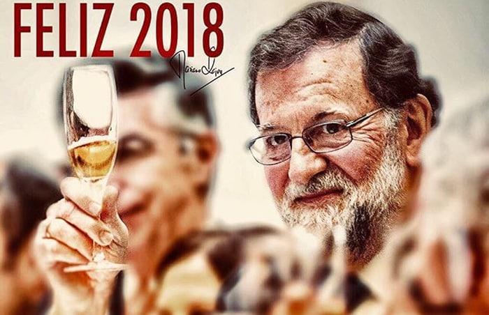 La felicitación de Rajoy por Año Nuevo