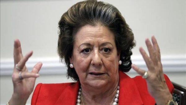 La fallecida alcaldesa de Valencia Rita Barberá