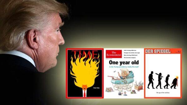 Donald Trump y las portadas de 'Time', 'The Economist' y 'Der Spiegel'