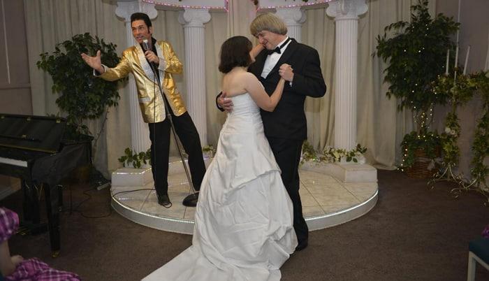 Los Turpin el día de su renovación de votos matrimoniales