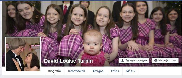 Perfil en Facebook de los Turpin