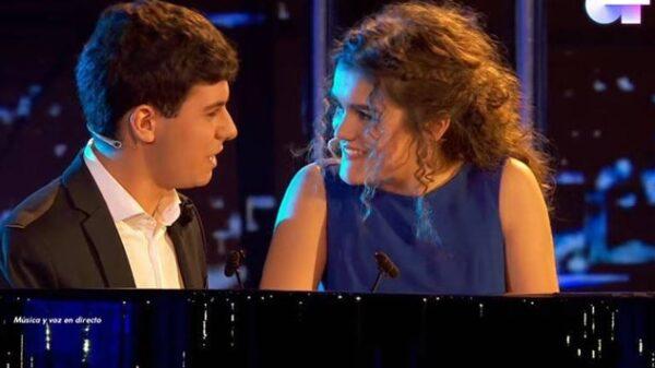 Amaia y Alfred interpretando 'City of Stars'
