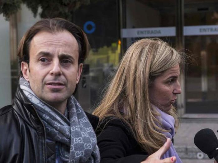 Arantxa Sánchez Vicario y su marido, Josep Santacana