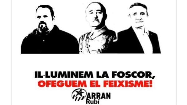 Imagen publicada por Arran Rubí en Twitter