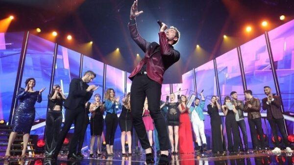 David Bisbal cantando 'a capella' en 'OT'