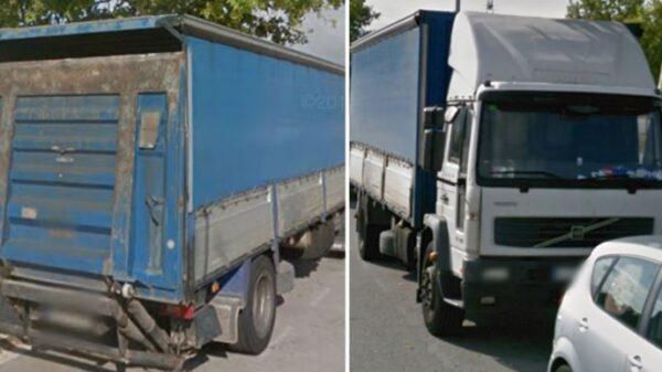 Camión robado que buscan los Mossos d'Esquadra