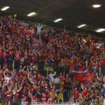 La afición del Baskonia en la Copa del Rey