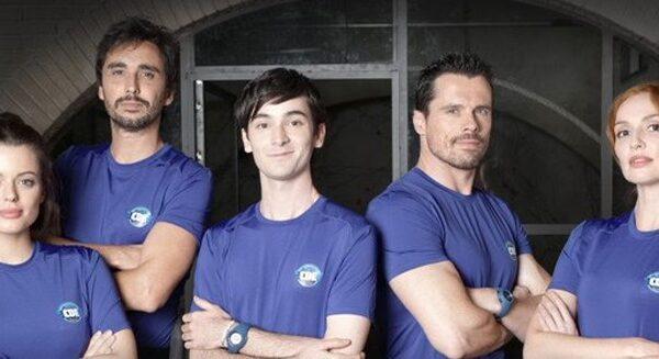 Protagonistas de la serie 'Cuerpo de élite'