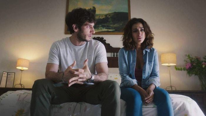 Inma Cuesta y Quim Gutiérrez en 'El Accidente'