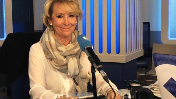 Esperanza Aguirre entrevistada en 'Herrera en COPE'
