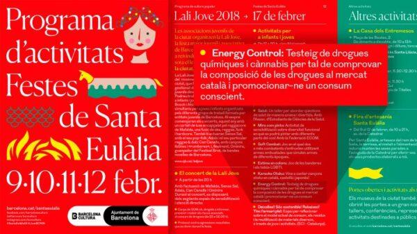 Programa de actividades de las Fiestas de Santa Eulàlia