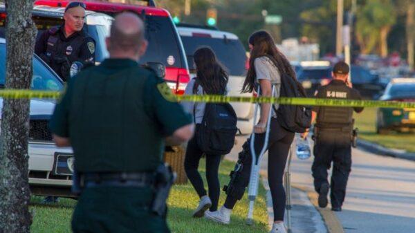 Algunas de las víctimas del tiroteo en el instituto de Florida