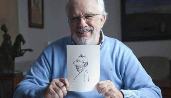 Antonio Fraguas, Forges (Santi Burgos/Academia de la Televisión)
