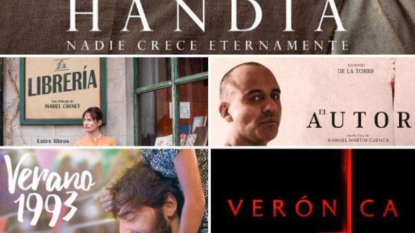 Las cinco nominadas a Mejor Película en los Goya 2018