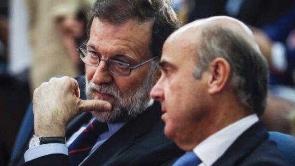 Mariano Rajoy y Luis de Guindos