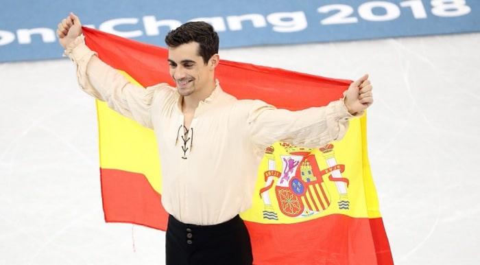El patinador Javier Fernández