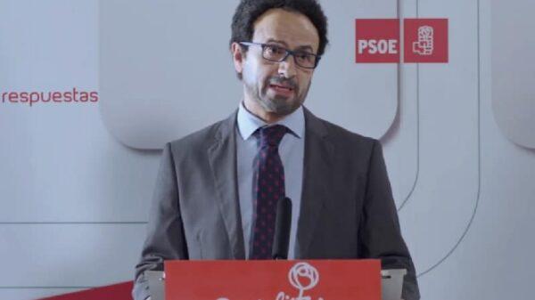 José Mota imitando a Antonio Hernando (PSOE) en su sketch