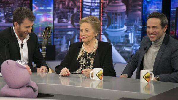 Julita Salmerón y su hijo Gustavo en 'El Hormiguero'