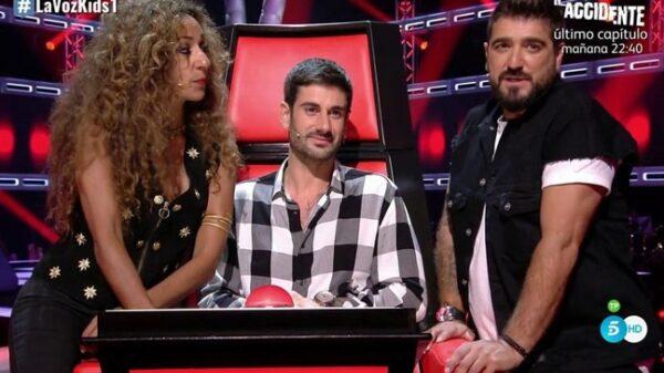 Rosario, Melendi y Antonio Orozco, 'coaches' de 'La Voz Kids'