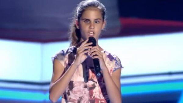 Laura, concursante de 'La Voz Kids'