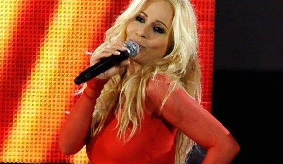 La cantante Marta Sánchez
