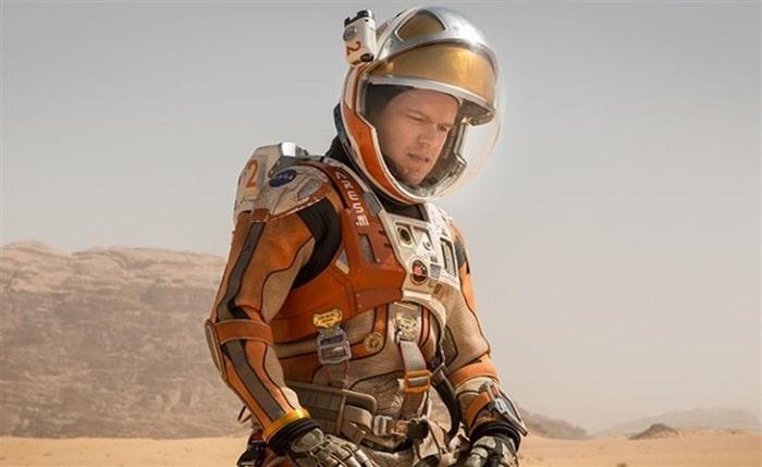 Fotograma de la película 'Marte'
